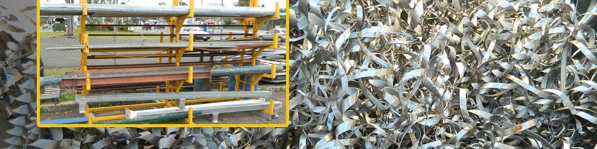 used-steel-aluminium